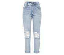 Mid Waist Jeans 'Boyfriend' blau