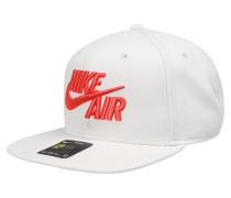 Cap 'air Classic' hellrot / weiß