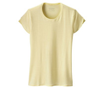 'Glorya' T-Shirt hellgelb