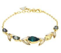 Armband 'Drama' gold / grün