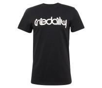 T-Shirt 'No Matter 4' schwarz / weiß
