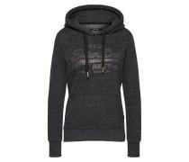 Sweatshirt 'vintage Logo Rhinestone MIX Entry Hood'