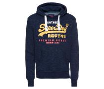Sweatshirt dunkelblau / gelb