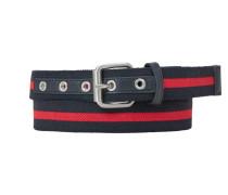 Belt ultramarinblau / feuerrot