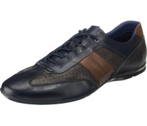 Sneakers nachtblau / braun / grau