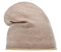 Beanie Mütze beige