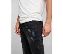 Jeans 'Cliff' black denim
