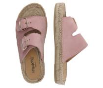 Sandale 'Claquette' rosé