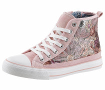 Sneaker rosé / weiß