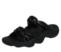 Sandalen 'knot Slide' schwarz