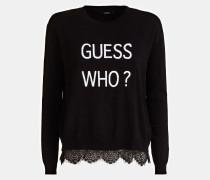 Pullover schwarz / weiß