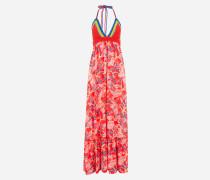 Kleid mit Häkel-Details