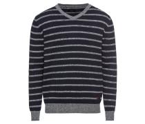 Pullover 'serra' dunkelblau / grau