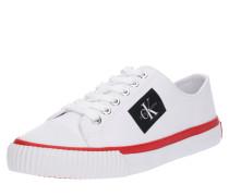 Sneaker 'ivory' weiß