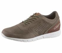 Sneaker braun / khaki / weiß