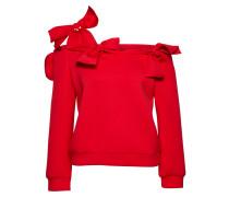 Sweatshirt 'bardot BOW Scuba Sweat' rot