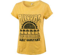 'coral BAY 'T-Shirt zitronengelb