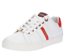 Sneaker 'lisa' rot / weiß