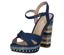 Sandale 'hugs' dunkelblau / mischfarben