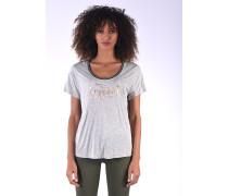 T-Shirt Thela Ligrme mit glitzerndem Frontprint