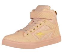 Sneaker nude / rosa