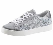 Sneaker rauchblau / weiß