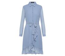 Blusenkleid 'nibel' blau
