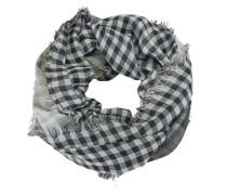Schal hellbraun / grau / weiß