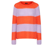 Pullover 'cipatty' lila / orange