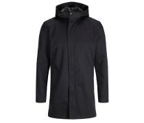 Minimalistische Jacke schwarz