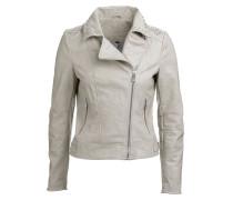 Jacket 'Virginia Studs' grau
