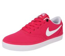Sneaker 'Check Solar' pink / weiß