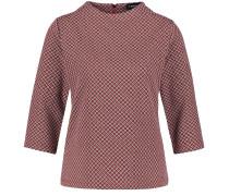 Pullover pastellrot / schwarz / weiß