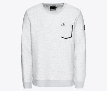 Sweatshirt 'Bullet' weiß