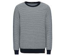 Pullover '3 col. pattern crew knit'