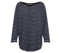 Shirt 'Shane Jaquard' navy / weiß