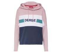 Sweatshirt 'Tint Girls' navy / rosa / weiß