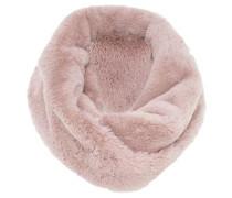 Snood aus Fake-Fur pink