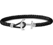 Armband schoko / silber