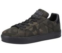 Sneaker oliv / dunkelgrün