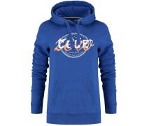 Kapuzenpullover 'Unfurl Hoody' blau