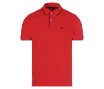 Poloshirt rot / schwarz