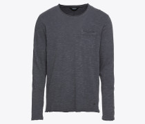 T-Shirt 'Reason Slub' taubenblau