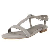Sandale 'Cherie T-Strap' hellgrau