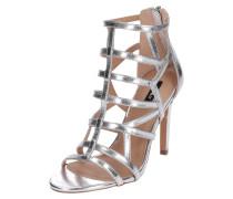 High Heel-Sandalette 'OnlCROWN' silber