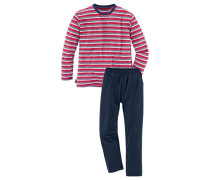 Pyjama blau / rot