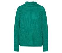 Pullover 'pcsie LS Knit FF' grün