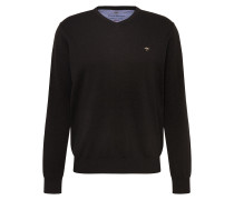 Pullover 'V-Neck Nos' anthrazit