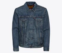 Jacke 'lined Trucker Jacket' blue denim