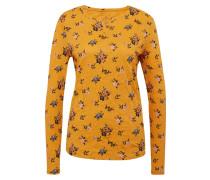Langarmshirt mischfarben / orange
